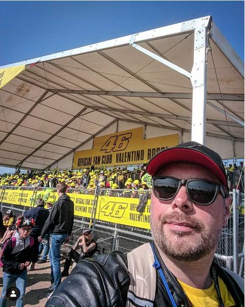 Souvenir du MotoGP au  Mans 2018